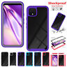 For Google Pixel 4a 4 XL 3a XL Shockproof Silicone Bumper Slim Hybrid Case Cover