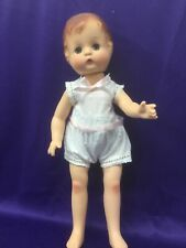 EFFANBEE PATSY JOAN DOLL. 16 INCHES TALL. DRESSED. SLEEP EYES.  1994.