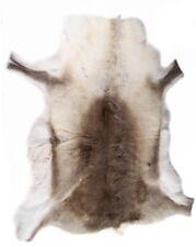 Premium Grade A Genuine Reindeer Hide with Natural Light Shade Markings