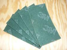 5St. Schleifvlies  3M Handpad Polieren Schleifen Edelstahl  Metall Holz  grün
