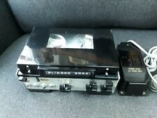 Rare Vintage FI-CORD 202A Professional Portable Reel to Reel Tape Recorder + PSU