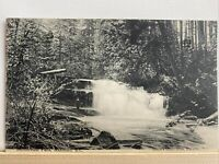 Vintage Postcard. 1907 Issued Millstream Falls Nanaimo BC PC101