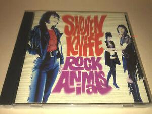 Shonen Knife CD Rock Animals (Osaka female rock band) Thurston Moore  少年ナイフ