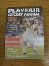 2010 Cricket: Playfair Cricket Annual. bobfrankandelvis (Également appelé personnes souhaitant assister progs) Selle