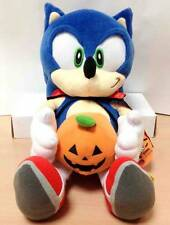 Sonic Hedgehog Plush Doll Halloween Stuffed SEGA JOYPOLIS JP Limited Rare NWT