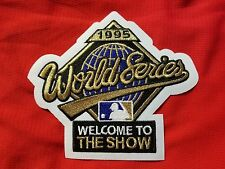 1995 World Series Atlanta Braves vs Cleveland Indians PATCH For Baseball Jersey