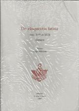 DE ELOQUENTIA LATINA SAEC. XVII ET XVIII DIALOGUS NIKITINSKI