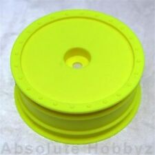 DE Racing 1/10 Borrego Yellow Wheel (Kyosho RB5 / AE B4 with Hex) - (front)