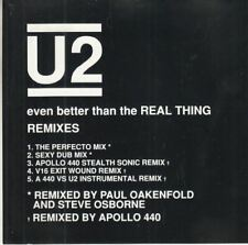 Even Better Than The Real Thing (Remixes) : U2