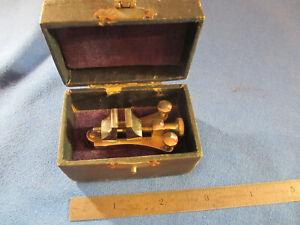 Watchmaker Estate Vintage Hi Quality Poising Tool in the Original Leather Case