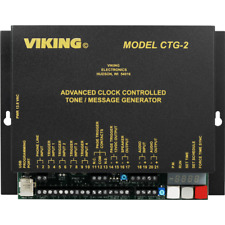 VIKING Model: CTG-2 Master Clock / Clock Controlled Tones / Messages Over Paging