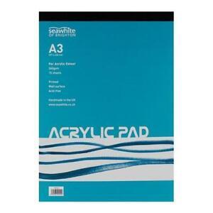 Seawhite 360gsm Acrylic Painting Pad 15 Sheets