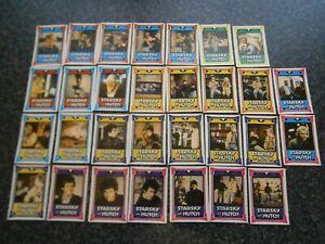 Vintage 1970's Starsky and Hutch Monty Gum Cards x30  1978