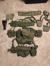 Usgi Vietnam War Web Set & Other Mix Gear Lot