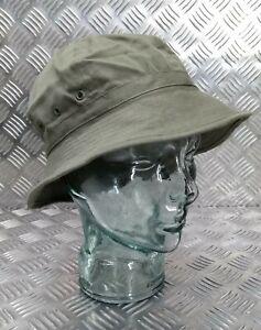 Genuine Military OD Olive Green Bucket Hat Army Boonie Bush Hat Rave Hat 60cm
