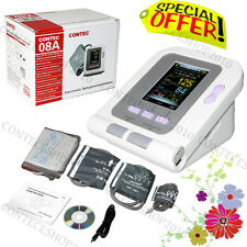 NIBP Digital Blood Pressure Monitor, 4 polsini, Software PC USB, CONTEC