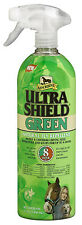 UltraShield Green Natural Fly Repellent For Horses, 32-oz.