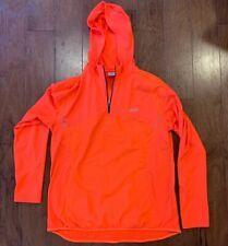 Asics Hooded Orange Running Jacket Large Reflective - Barely Used