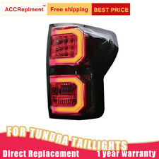 2007-2013 For Toyota Tundra Dark / Red LED Rear Lights Assembly new Tail Lamps