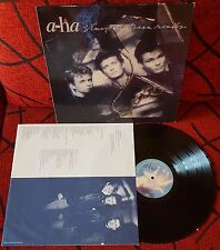 A-HA ***Stay On These Roads*** RARE 1988 Spain LP ON DISCOS CBS w/ INSERT