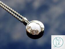 Howlite Luna Collar Colgante de piedras preciosas naturales 50 Cm Piedra de Curación Chakra