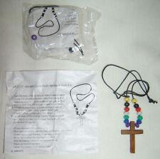 Christian Easter Cross Beads Men Women Teen Kid Necklace Fashion Kit DIY Craft
