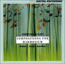Sigfrid Karg-Elert: Compositions for Harmonium