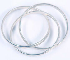 TIFFANY & CO SOLID STERLING BANGLE BRACELETS -  GENUINE NICE CONDITION