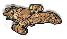 "Serenity/Firefly Die Cut Ship 4.5"" Embroidered Patch- Mailed from Usa (Sepa-009)"