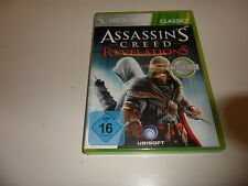 XBox 360  Assassin's Creed - Revelations