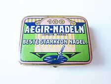 Grammophon NADELDOSE AEGIR STARKTON gramophone needle tin