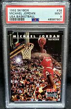 Michael Jordan 1992 Skybox USA Team #38 PSA 9 Mint HOF Chicago Bulls 1992-93