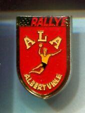 RARE PINS PIN'S .. OLYMPIQUE ALBERTVILLE 92  RALLYE HAND BALL ~9C