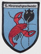Marine écusson patch 10. Escadron de dragage a4844
