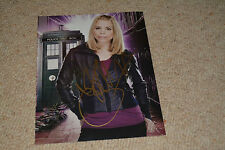 BILLIE PIPER signed Autogramm 20x25 cm In Person DOCTOR WHO
