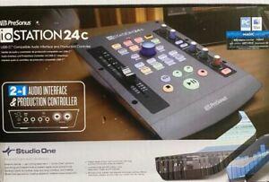 PreSonus ioStation 24c 2x2 192 kHz USB Audio Interface and Production Controller