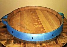 Wine Barrel Lazy Susan, Rotating Tray, Turntable, Custom/personalize