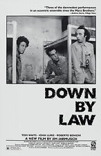 DOWN BY LAW (1986) ORIGINAL MOVIE POSTER  -  STYLE A  -  ROLLED