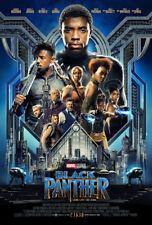 BLACK PANTHER Original DS 27x40 Movie Poster FINAL Version Marvel Pre-Order NEW!
