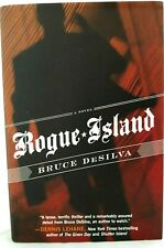ROGUE ISLAND Bruce DeSilva AUTHOR-SIGNED Dust Jacket FIRST EDITION DEBUT Mint