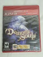 Demon's Souls (Sony PlayStation 3, 2009) Greatest Hits New Sealed Unopened.