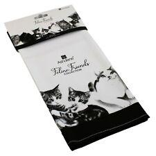 Tea Towel Cat Feline Cats Kittens Felines Kitten Kitchen Dish Cotton Linen NEW