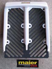 BANSHEE YFZ350 PEARL WHITE CARBON RAD COVER PLASTIC RADIATOR 1986-06 HOOD GRILL