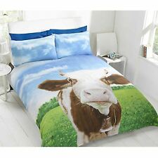 DAISY COW SINGLE DUVET COVER SET NEW BEDDING KIDS