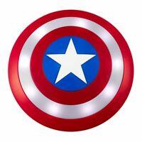 "Marvel's  Avengers Captain America Shield Toy  13"" Plastic talking Infinity War"