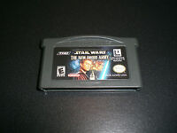 Star Wars: The New Droid Army (Nintendo Game Boy Advance) DS Lite GBA SP