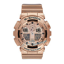 Brand New Casio G-Shock GA-100GD-9 Rose Gold Resin Band Watch