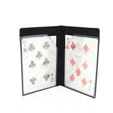 Optical Wallet Card Appearing Magic Tricks Close Up Gimmick Props Fun  Kids Toy