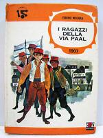 """Cartonato """"I ragazzi della Via Paal"""" 7a edizione 1974 AMZ Milano Ferenc Molnar"""