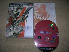 Metal Gear Solid 2 : Sons of Liberty - Rare Sony PS2 Game